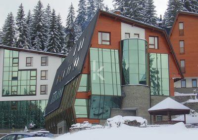 Kristal-kombinirane staklene fasade