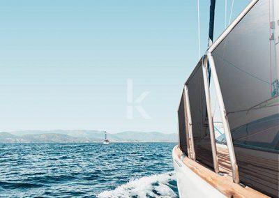 Kristal stakla za brodove
