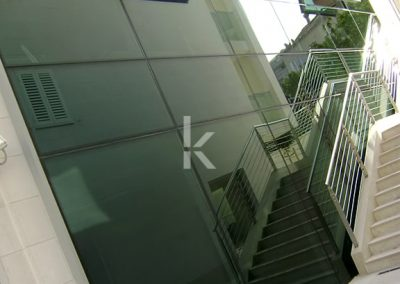 Kristal-strukturalne staklene fasade